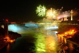 new Year o Niagara